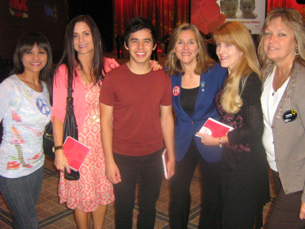 David Archuleta and Meredith Viera