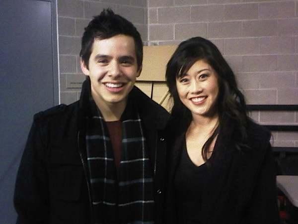 David Archuleta and Kristi Yamaguchi