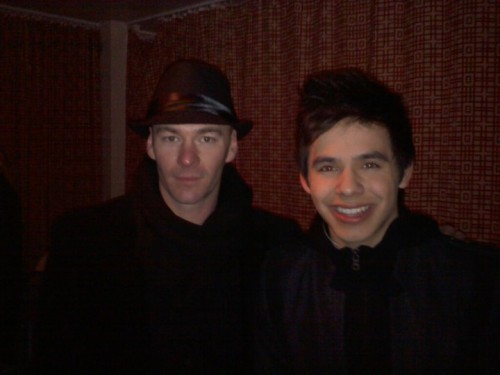 David Archuleta and Alfredo