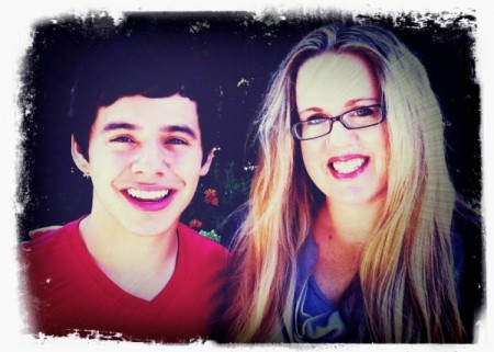 David Archuleta and Lisa Murray