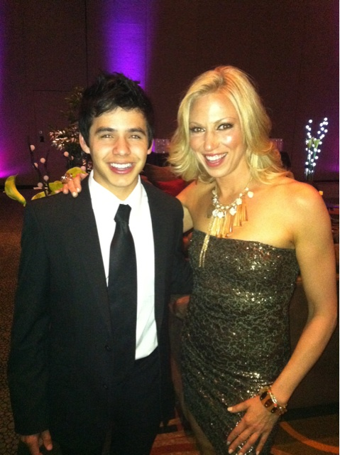 David Archuleta and Debbie Gibson