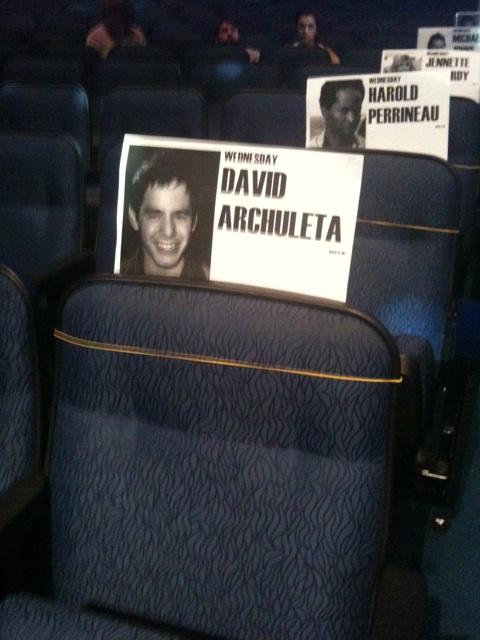 Idol finale seat