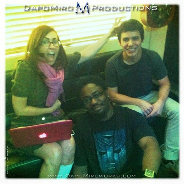 David Archuleta with LadyV and Dapo