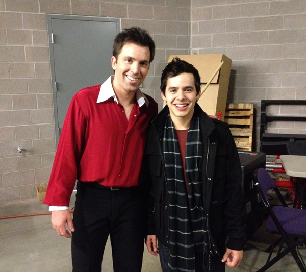 Michael Weiss and David Archuleta