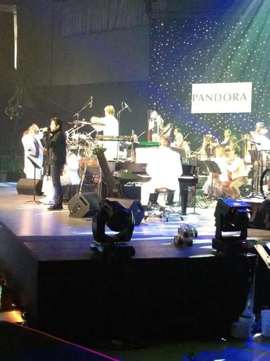 Pandora rehearsal