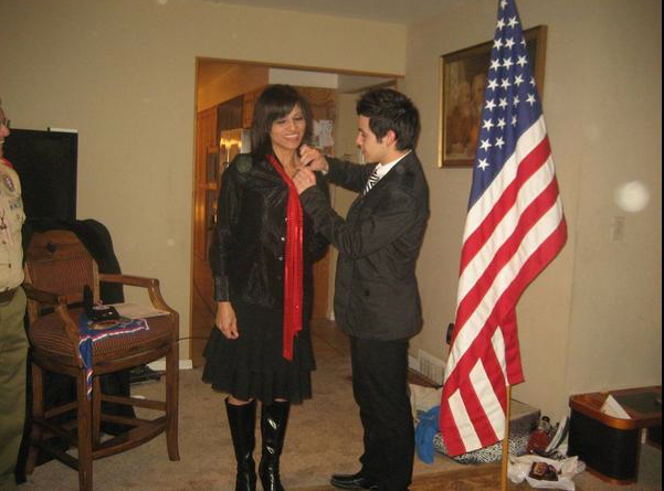 David Archuleta and Lupe