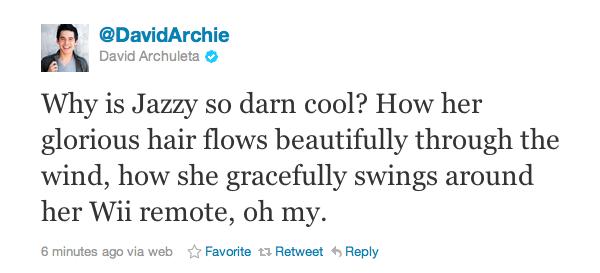 Jazzy tweet
