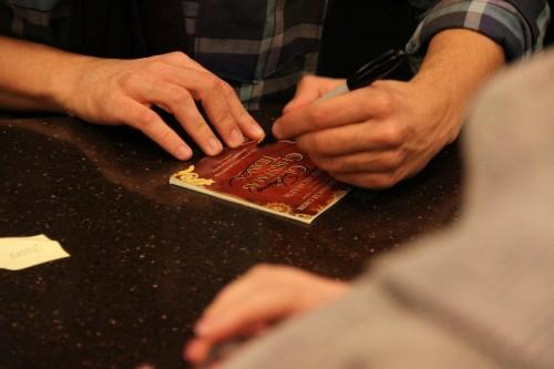 David Archuleta signing