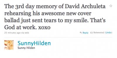 2Sunny Hilden tweet