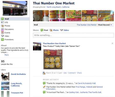 Thai market FB