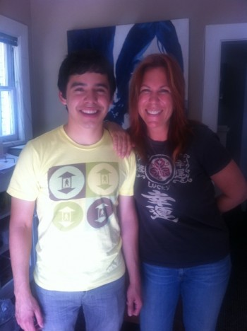 David Archuleta and Victoria Shaw