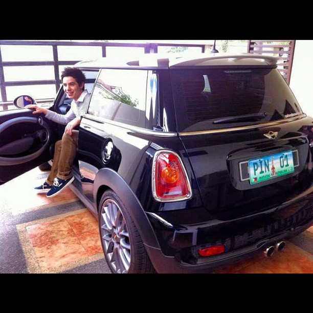 Photo of David Archuleta 2010 Shelby GT500 Super Snake Coupe, Mini Morris - car