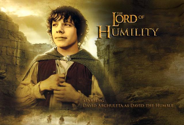 Counting Davids Character David Archuleta as Frodo
