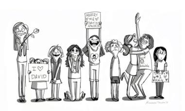 david-archuleta-fans-drawing-by-miranda-tacchia