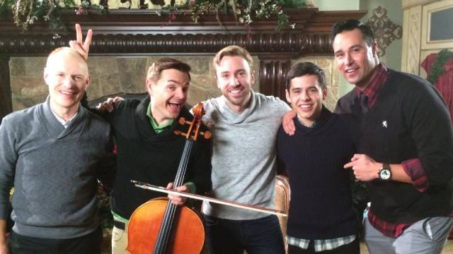 """I had an incredible time shooting a video with The Piano Guys and David Archuleta! I seriously cannot wait to show you all!! #sharethegift #soexcited"""
