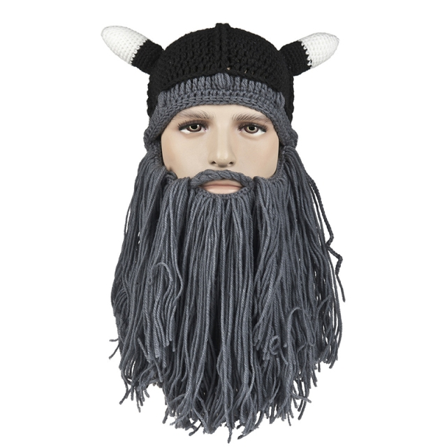 The-Wigs-Fake-Beard-Styling-Horns-font-b-Hats-b-font-Novelty-font-b-Funny-b